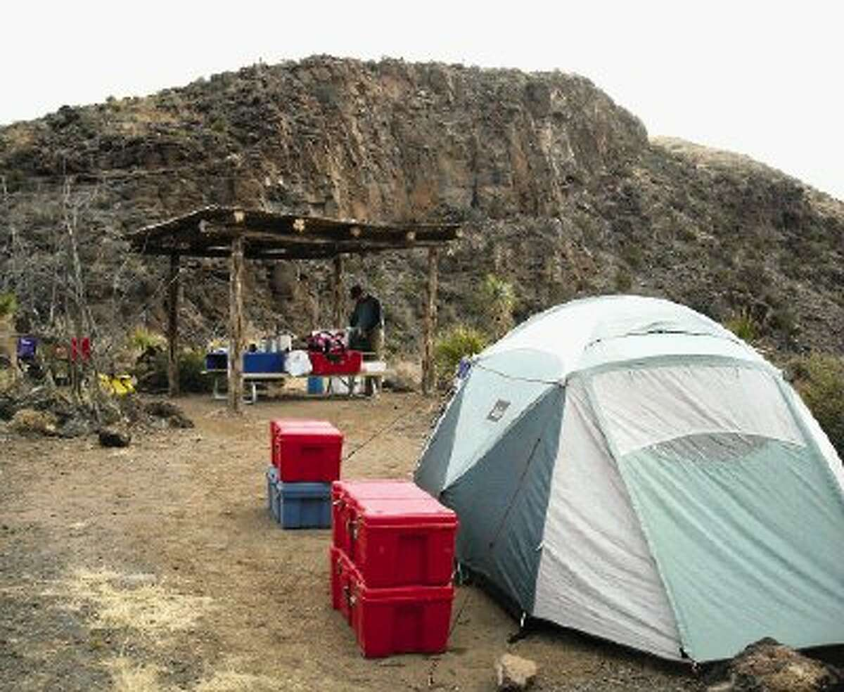 Campsites at Big Bend Ranch State Park are very rustic -- with no electricity, water or other conveniences.