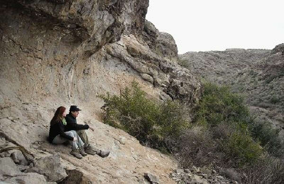 Montgomery County residents Paula Campbell and Eli Rivera say their annual holiday camping trip to Big Bend Ranch State Park is a great way to relax and get ready for a new year.