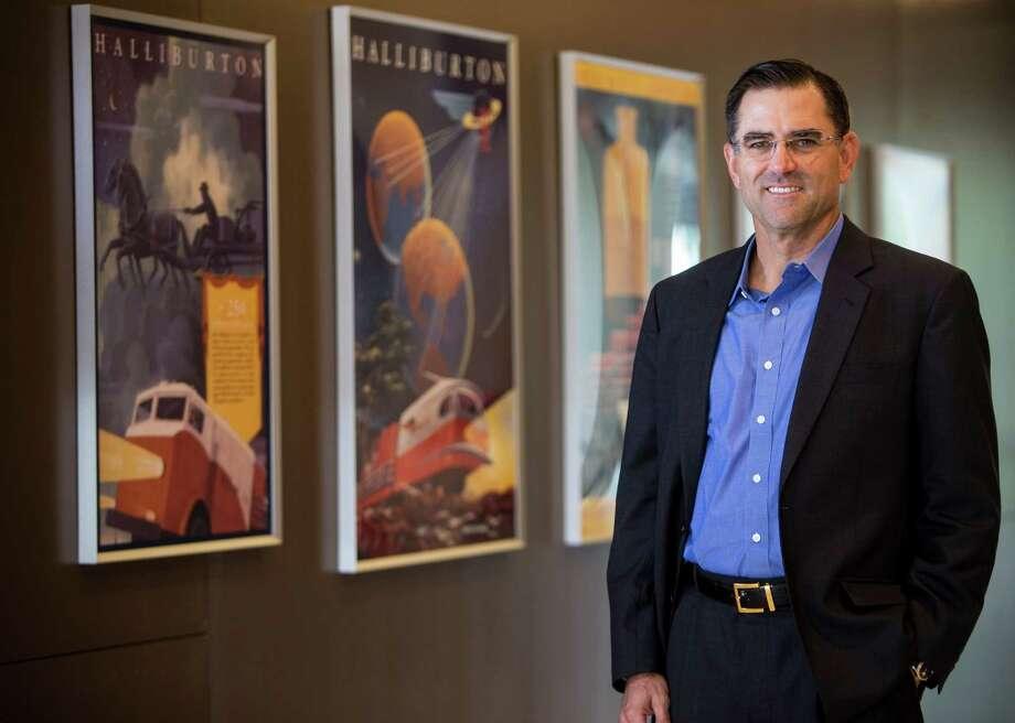 Halliburton President Jeff Miller poses for a portrait on Friday, Aug. 26, 2016, in Houston. ( Brett Coomer / Houston Chronicle ) Photo: Brett Coomer, Staff / © 2016 Houston Chronicle