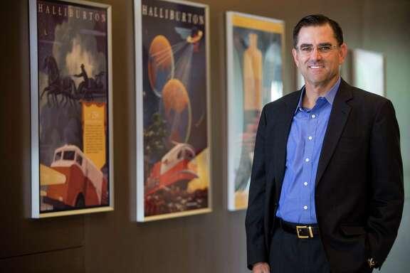 Halliburton President Jeff Miller poses for a portrait on Friday, Aug. 26, 2016, in Houston. ( Brett Coomer / Houston Chronicle )