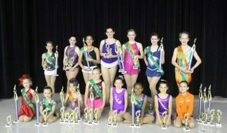 "The Woodlands Twirling Academy, ""Home of the Texas Twirlers,"" ended its 2012-13 season with major sweeps at regional competitions. Photo: Submitted"