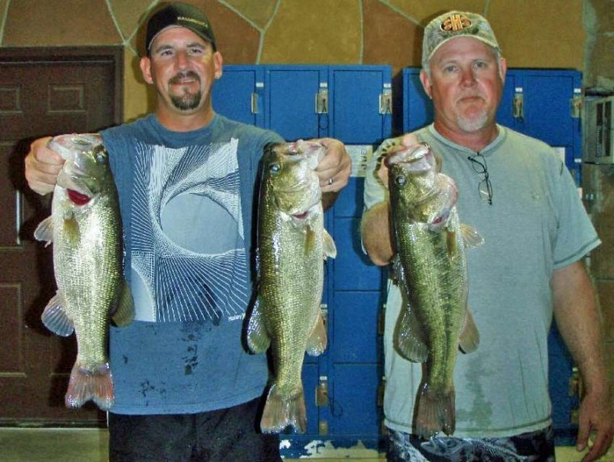 Julian Clepper and Randy Gunter won the Conroe Bass Midnight Madness Tournament on July 14 with a stringer weight of 11.34 pounds.