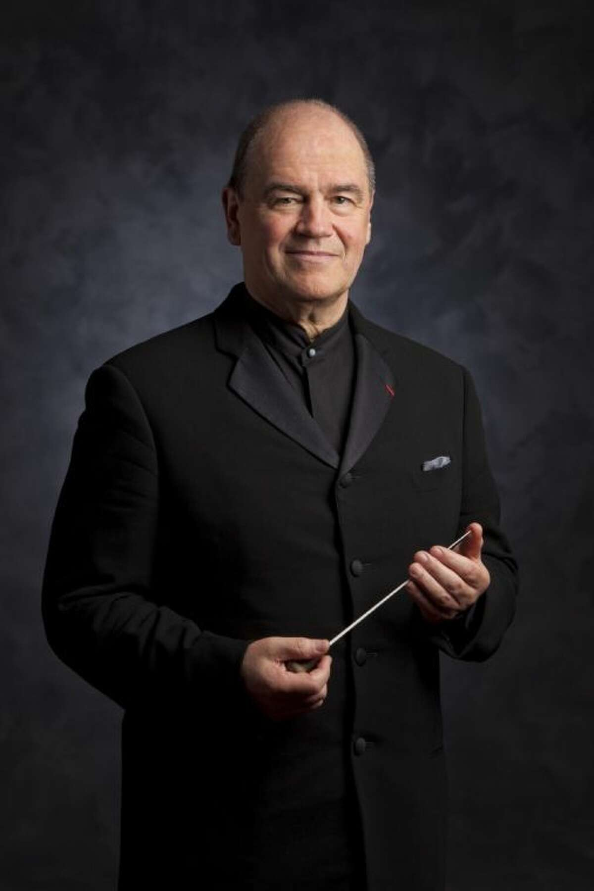 Houston Symphony Conductor Hans Graf will celebrate his farewell concert at The Cynthia Woods Mitchell Pavilion Friday night.