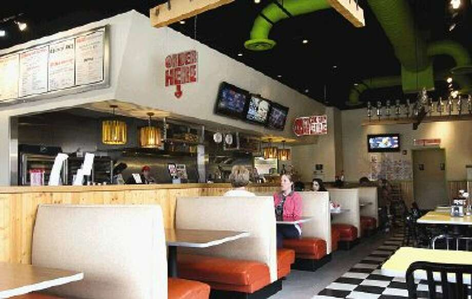 Mooyah is casual dining restaurant featuring burgers, fries and milkshakes.