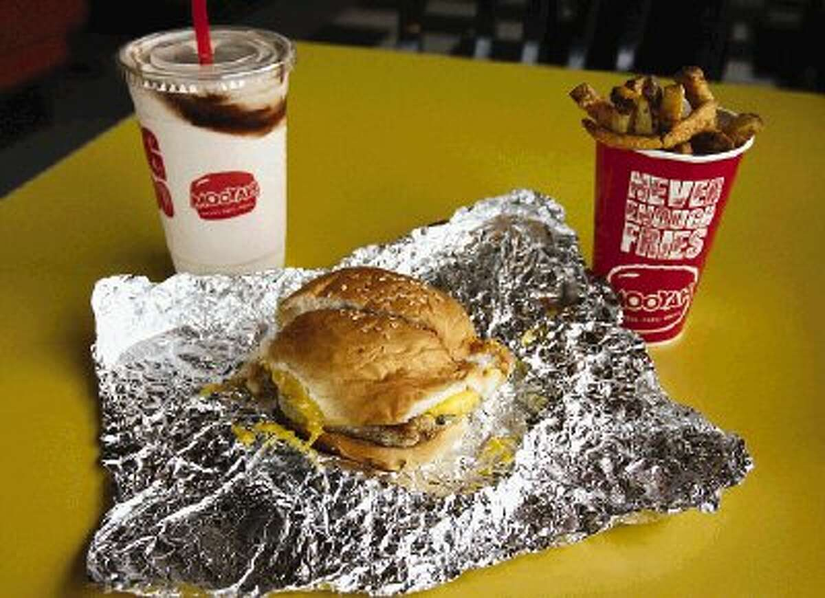 Mooyah offers the classic American burger - made with ground beef, turkey or veggies.