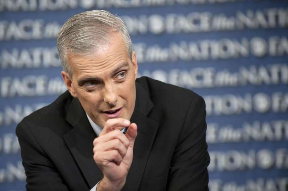 "In this Sunday photo provided by CBS News, White House Chief-of-Staff Denis McDonough speaks on CBS's ""Face the Nation"" in Washington. McDonough said Sunday that a ""common-sense test"" dictates the Syrian government is responsible for a chemical weapons attack that President Barack Obama says demands a U.S. military response. But, he said, the administration lacks ""irrefutable, beyond-a-reasonable-doubt evidence"" that skeptical Americans are seeking. Photo: CHRIS USHER"
