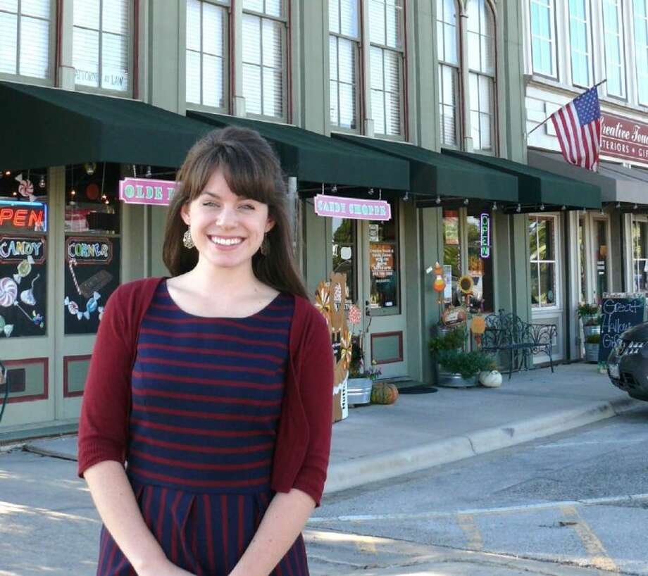 Erika Ragsdale, a 2007 Conroe High School graduate, is now Senior Planner for the City of Hutto, a suburb outside of Austin. She was awarded Planner of the Year from the Central Texas Chapter of the American Planning Association last month.