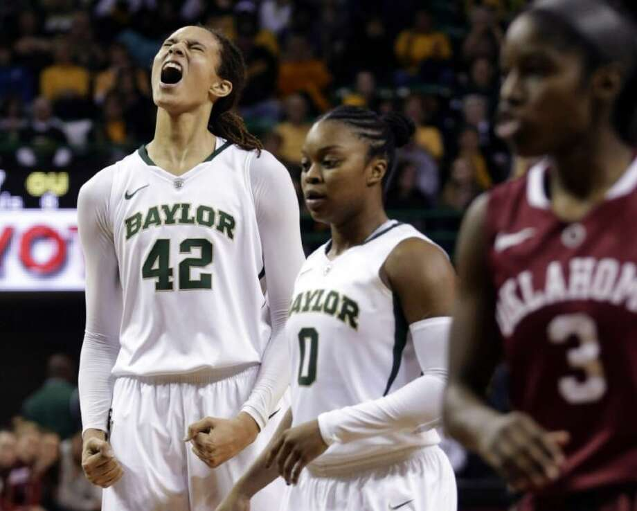 Baylor's Brittney Griner is The Associated Press' women's college basketball Player of the Year for the second straight season. Photo: LM Otero