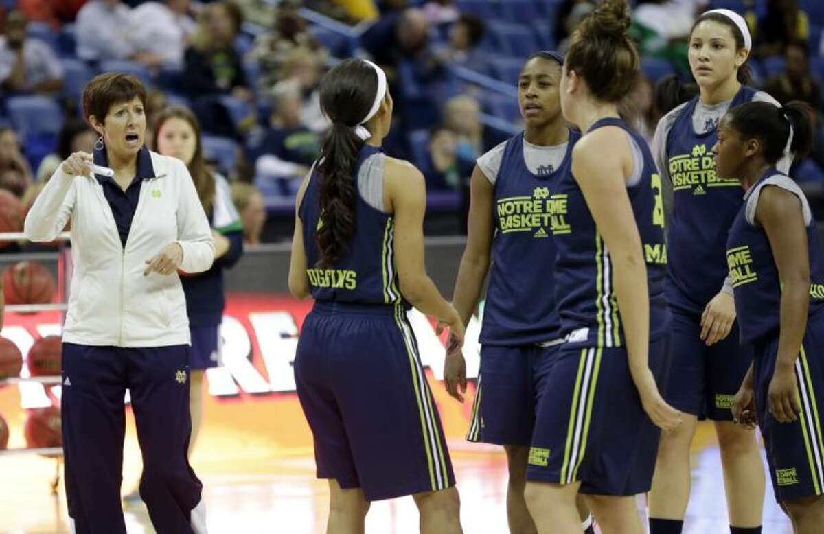 Notre Dame's Muffet McGraw is The Associated Press' women's college basketball Coach of the Year.