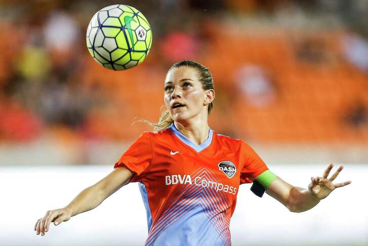 Dash forward Kealia Ohai is tied for the league lead in goals scored with 10. She will have the chance to improve her stats when Seattle visits on Sunday.
