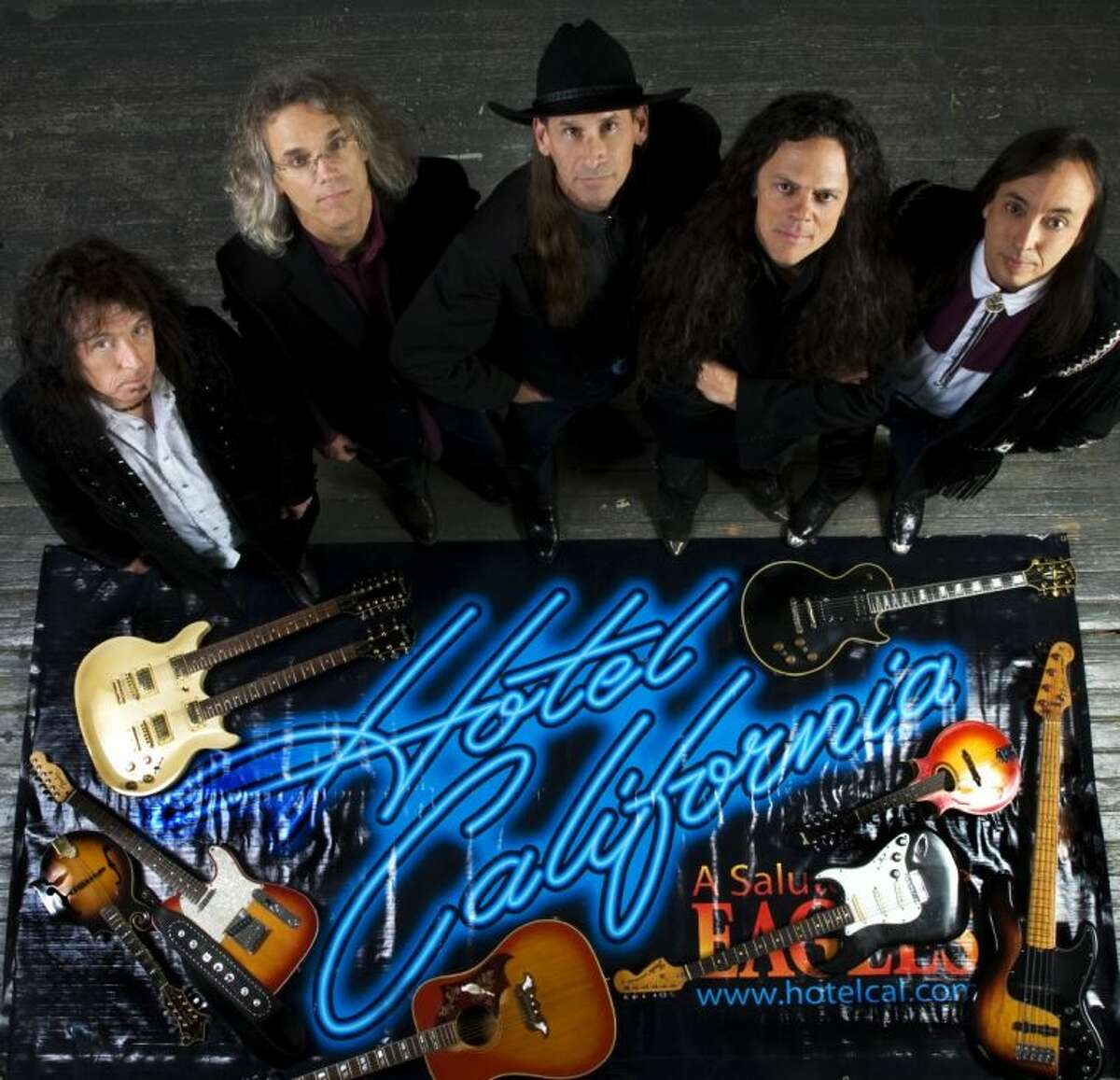 Hotel California A Salute to the Eagles plays at the Crighton Theatre June 1 at 7:30 p.m. through the Montgomery County Performing Arts Society.