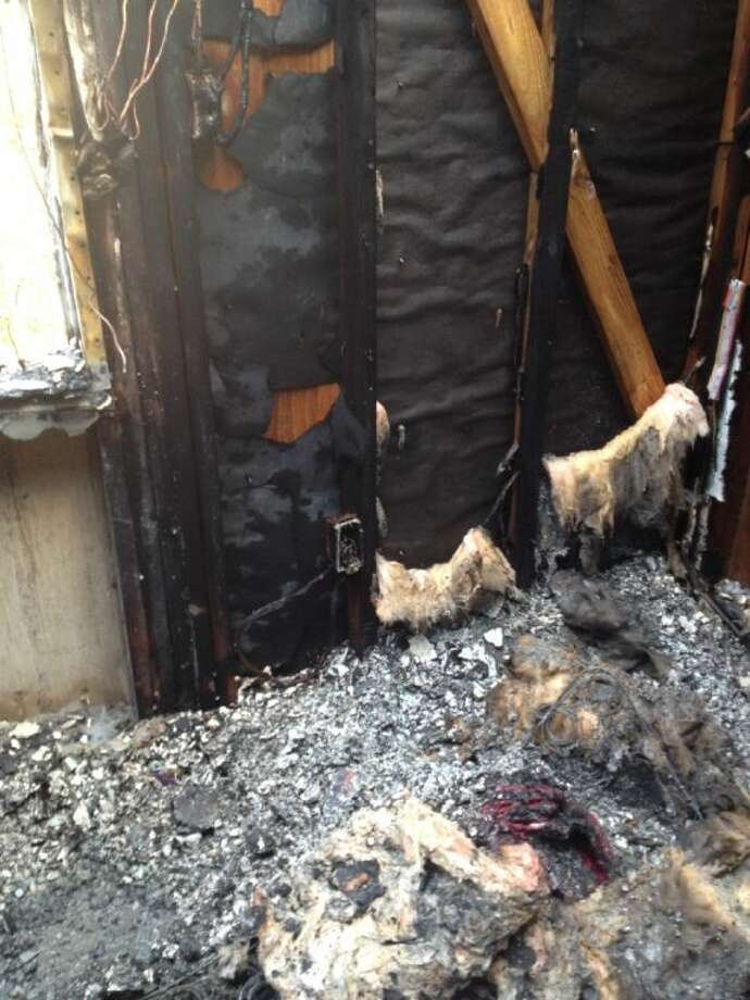 A fire started by a space heater destroyed an East Montgomery County home Thursday.