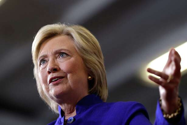 Democratic presidential candidate Hillary Clinton speaks during a campaign stop at the Frontline Outreach Center in Orlando, Fla., Wednesday, Sept. 21, 2016. (AP Photo/Matt Rourke)