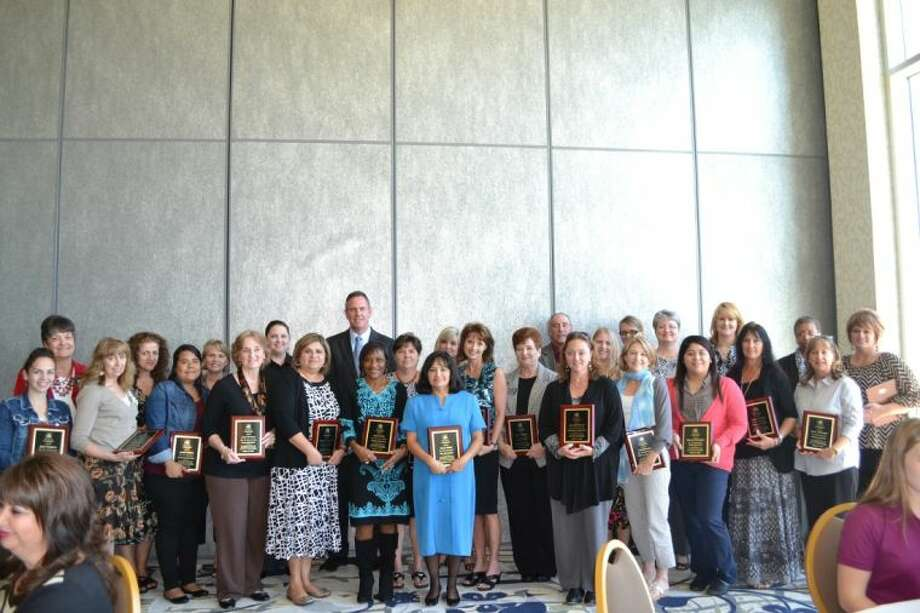 Conroe ISD teachers and paraprofessionals were honored by the Greater Conroe/Lake Conroe Area Chamber of Commerce.