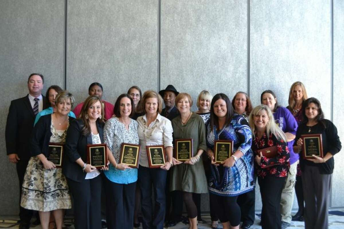 Montgomery ISD teachers and paraprofessionals were honored by the Greater Conroe/Lake Conroe Area Chamber of Commerce.