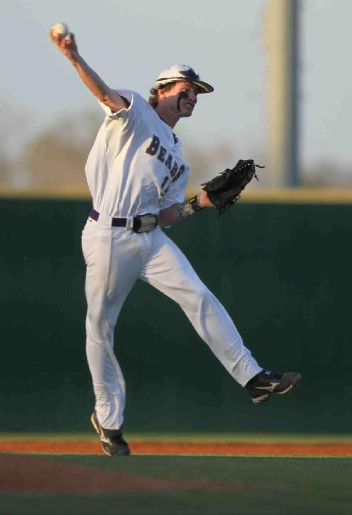 Montgomery senior shortstop Garrett Hrozek is the Courier's Defensive Player of the Year.