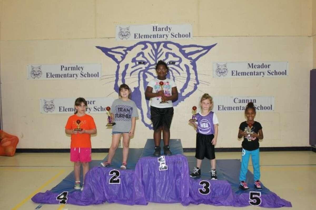 First grade girls winners