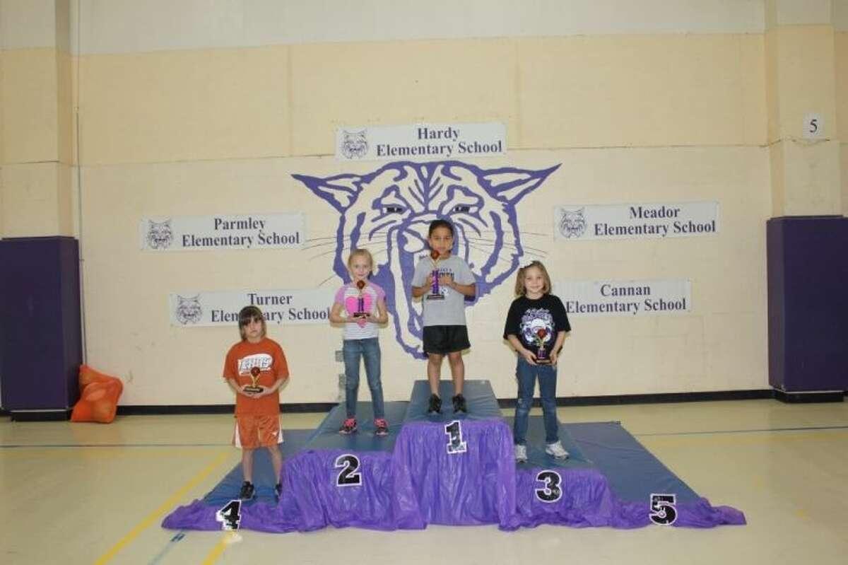 Second grade girls winners