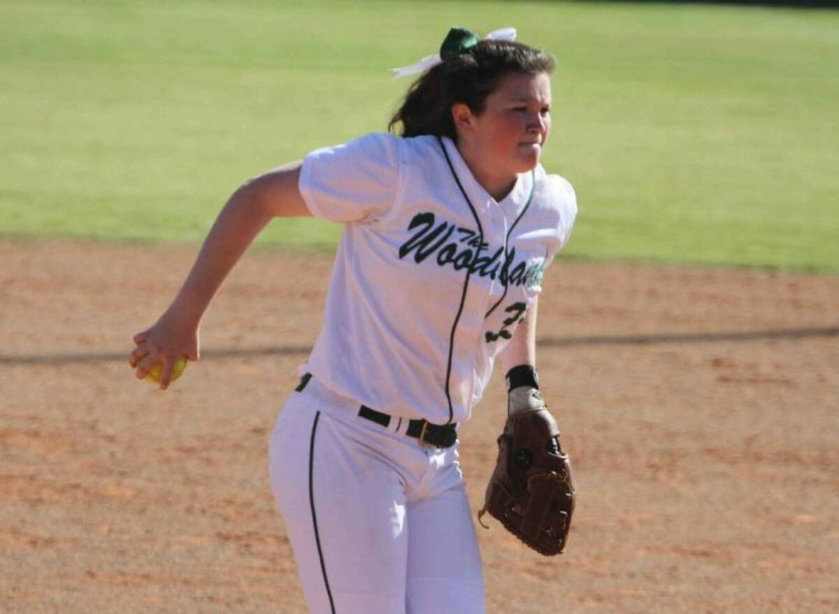The Woodlands' Caitlin Bartsch is 7-2 with a 1.22 ERA, four saves and 39 strikeouts this season.