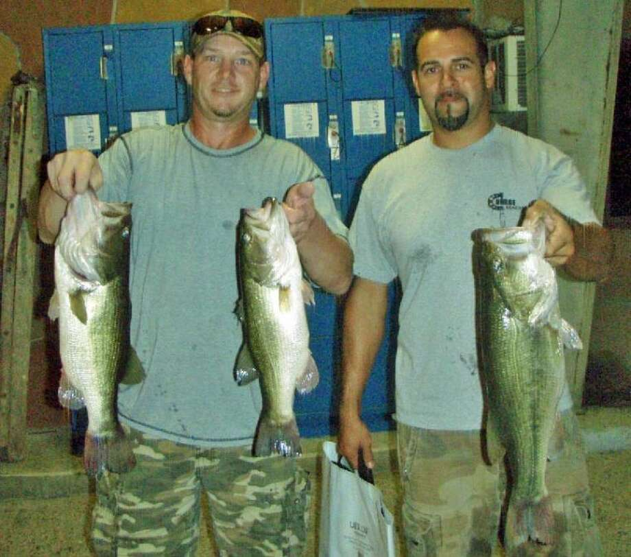 Tommy Feuge and Phillip Martinez won the Conroe Bass Tuesday Night Tournament on Sept. 3 with a stringer weight of 12.83 pounds.