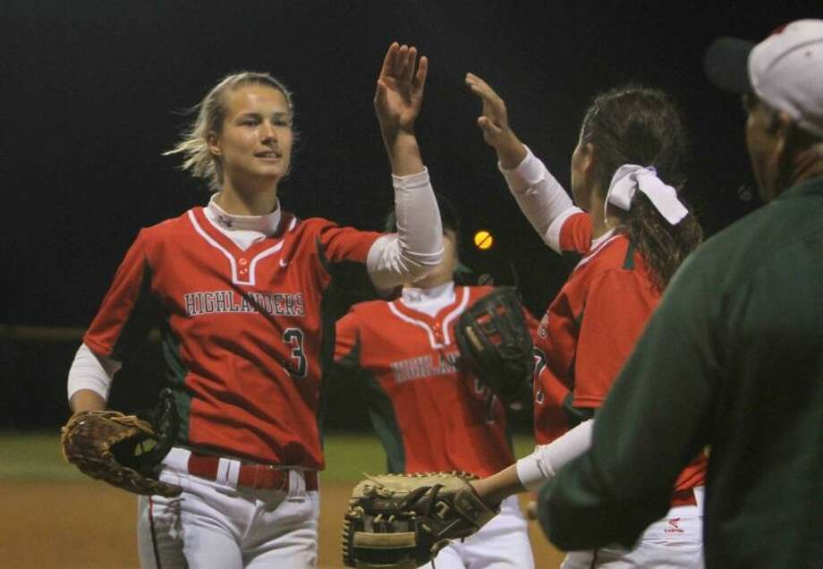 The Woodlands sophomore Abby Langkamp is the Courier's Player of the Year. Photo: Jason Fochtman