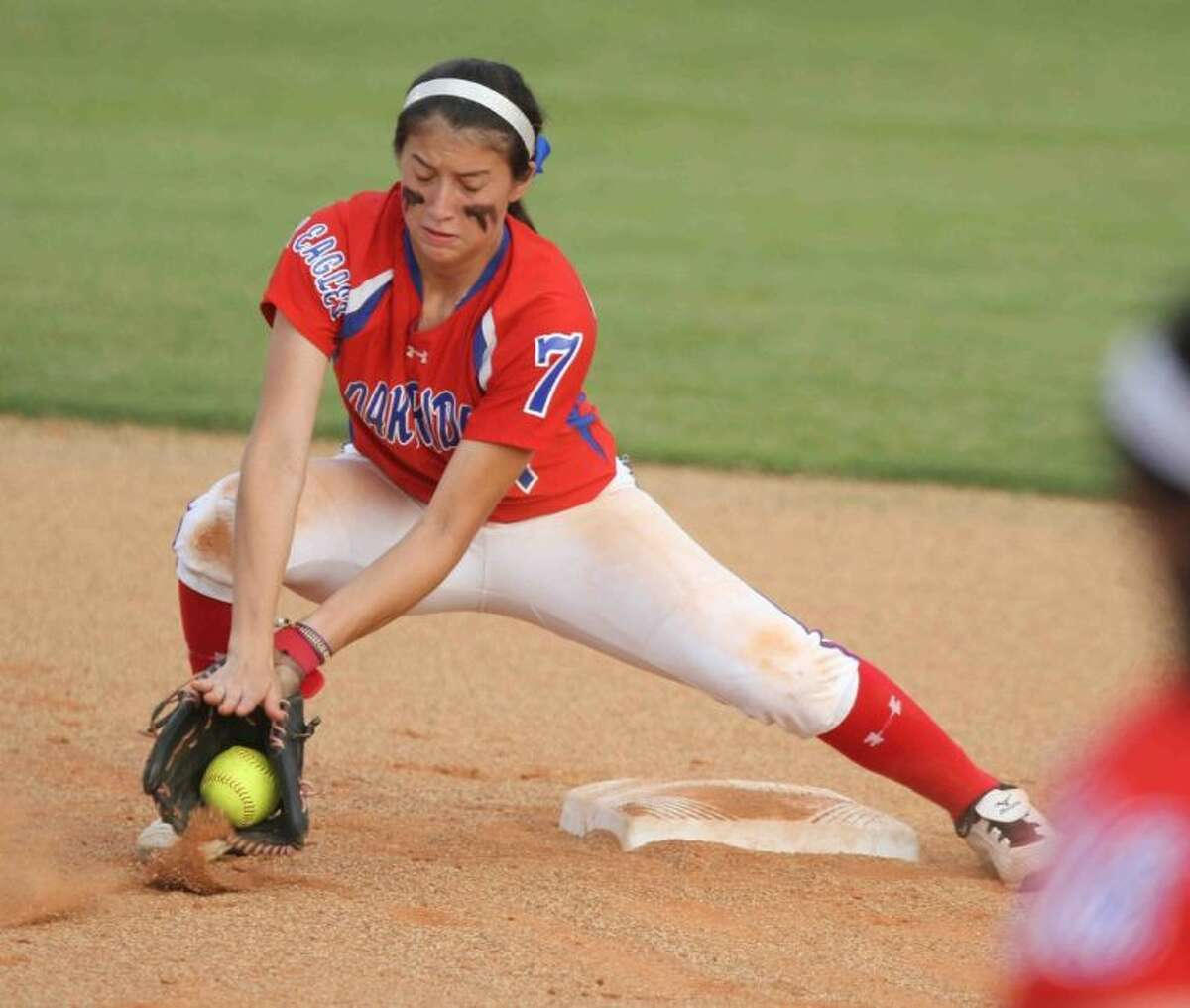 Oak Ridge sophomore Amber Serrett is the Courier's Defensive Most Valuable Player.