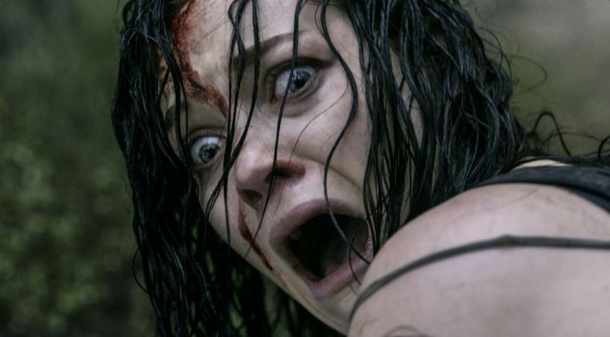 """This film image released by Sony-TriStar Pictures shows Jane Levy in a scene from """"Evil Dead."""""""