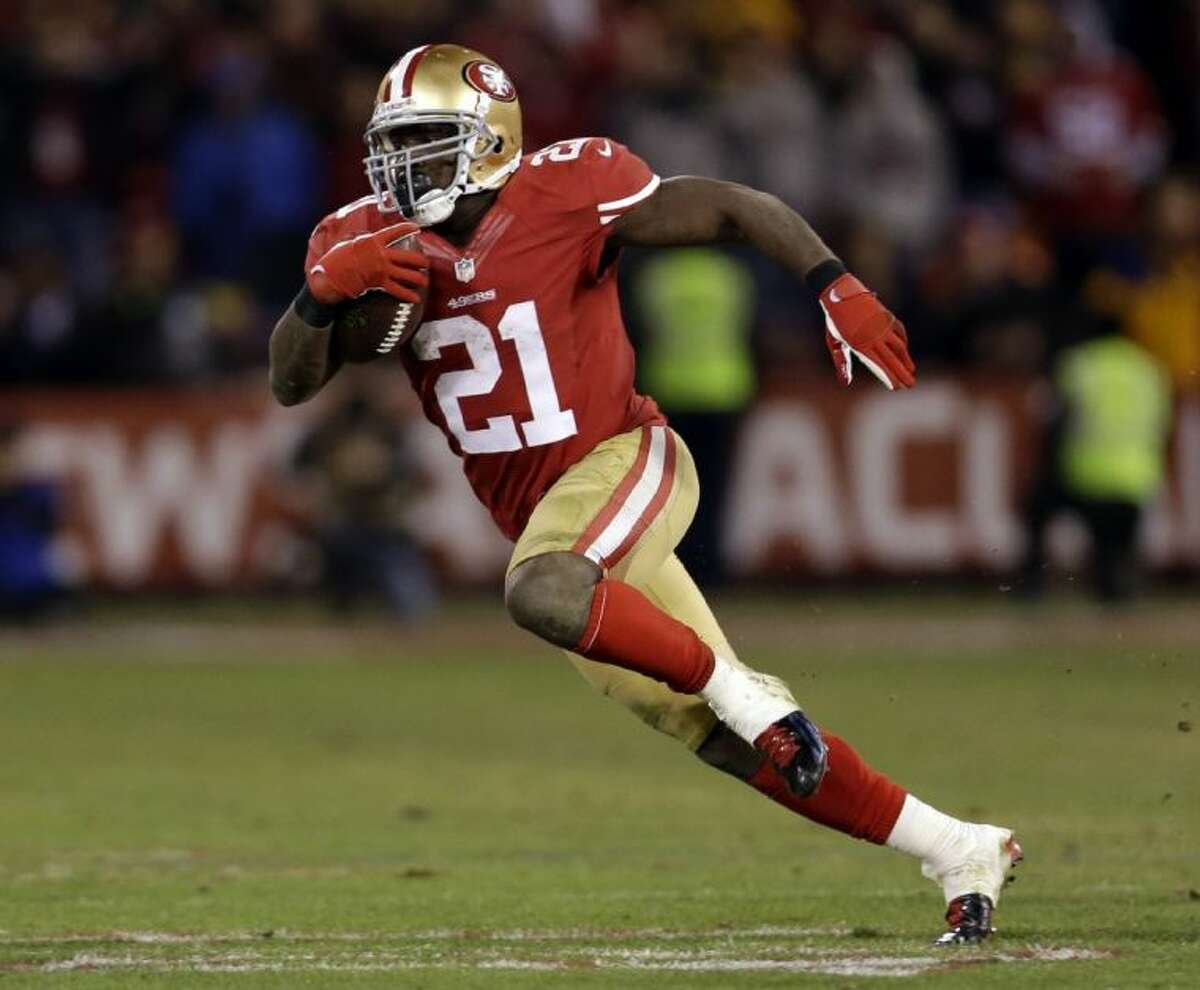 San Francisco 49ers running back Frank Gore learned some tough lessons in the early stages of his NFL career.