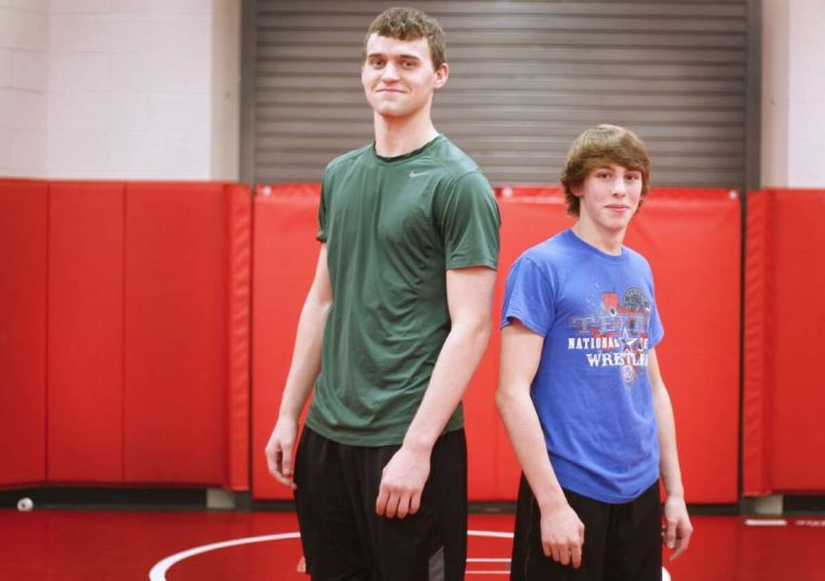 At left, The Woodlands senior Peter Cianchetti, left, and junior Skyler Franks qualified for their first Class 5A State Tournament.