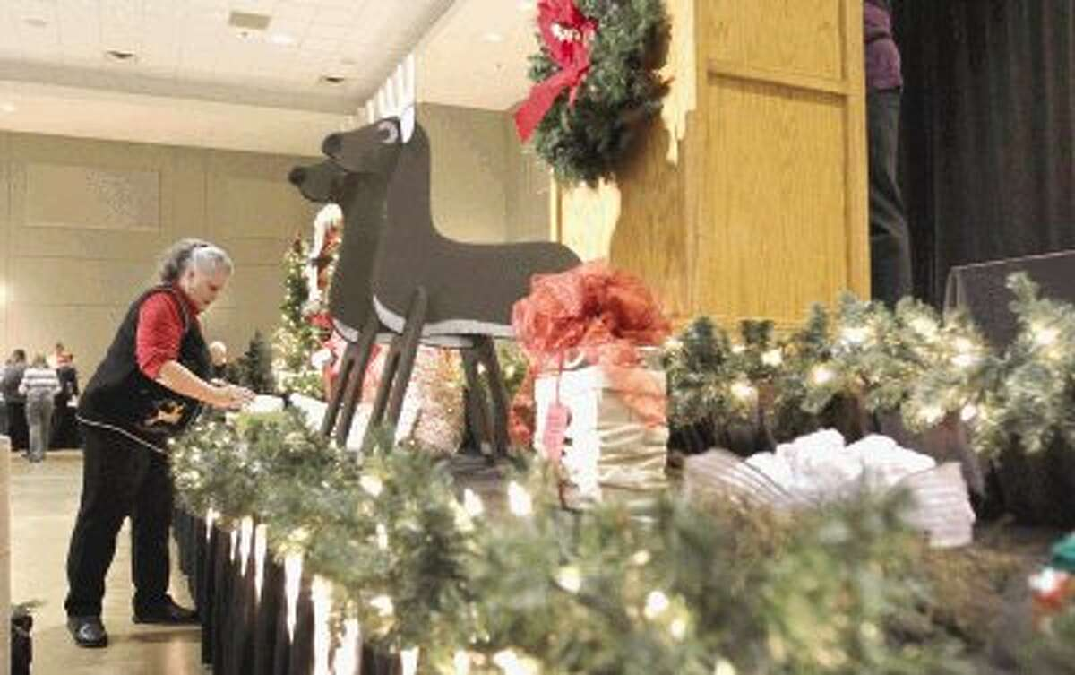 More than 600 Montgomery County employees celebrated the holidays during the county's annual Christmas party at the Lone Star Convention Center Tuesday.