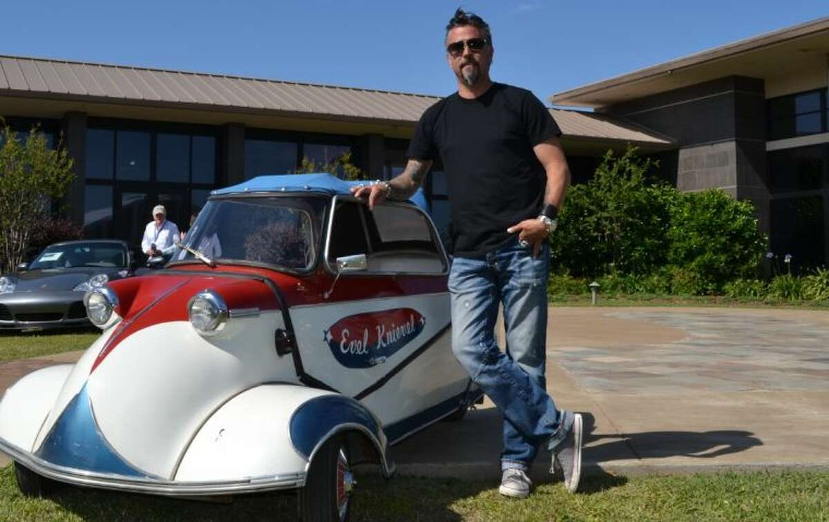 Richard Rawlings, of the TV series Fast N' Loud, is in Montgomery, where he sold his 1958 Messerschmitt micro car for $35,200 Saturday at The Houston Classic Auction. The car was once owned by Evel Knievel.