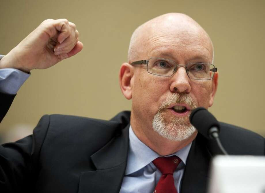 Gregory Hicks, former deputy chief of mission in Libya, testifies before the House Oversight and Government Reform Committee's hearing on the deadly assault of the U.S. diplomatic mission in Benghazi in Washington Wednesday. Photo: Cliff Owen