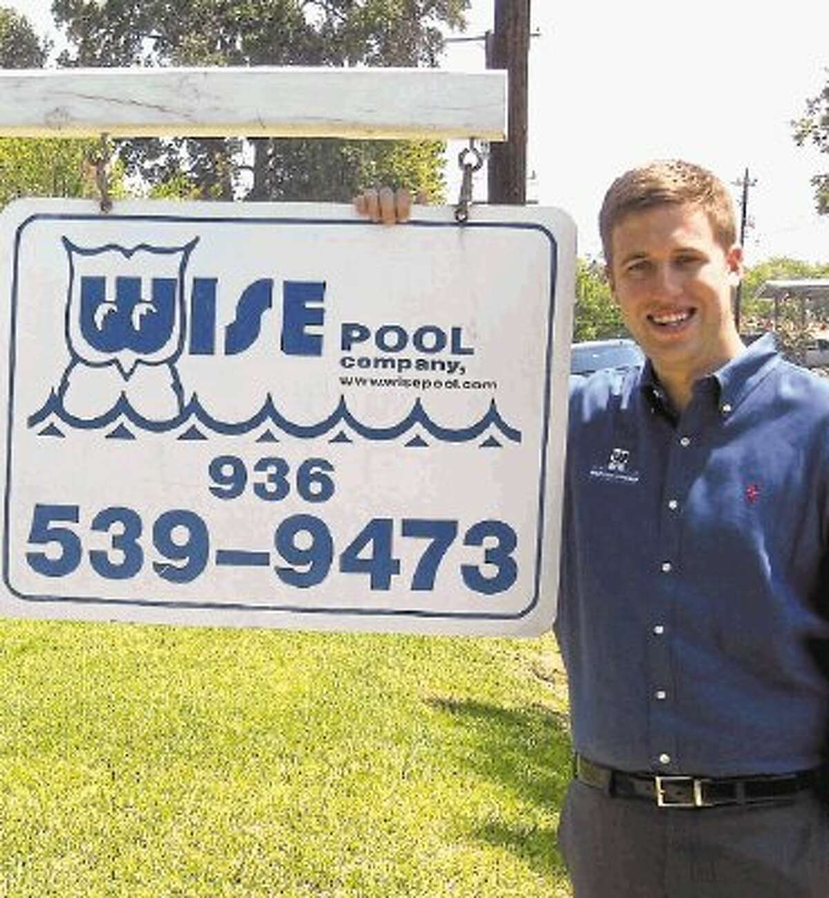 Jonathan Carroll, president of Wise Pool Company, recently was certified by Genesis 3.
