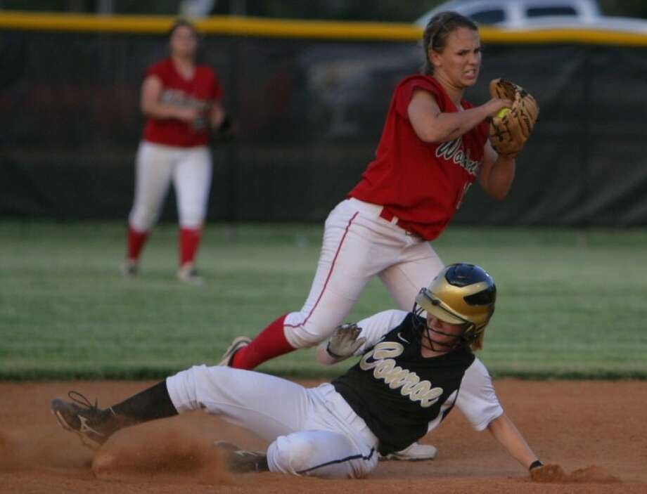 The Woodlands senior shortstop Faith Bohack is tied for second on the team with three home runs.