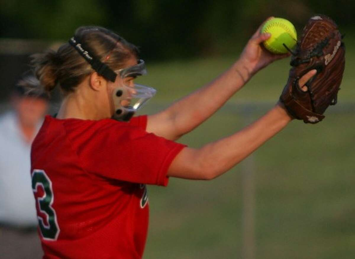Freshman Abby Langkamp has provided a shot in the arm for The Woodlands both in the circle and at the plate.