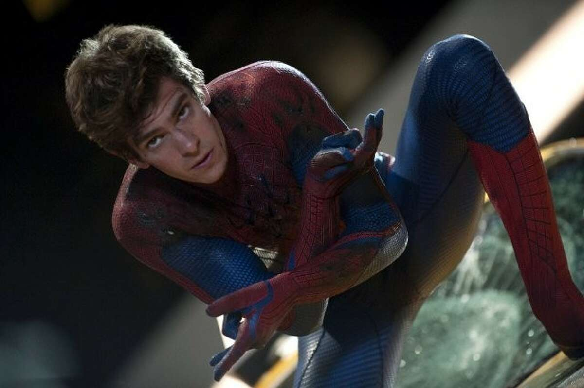 """Andrew Garfield stars as Peter Parker in the latest remake """"The Amazing Spider-Man."""""""