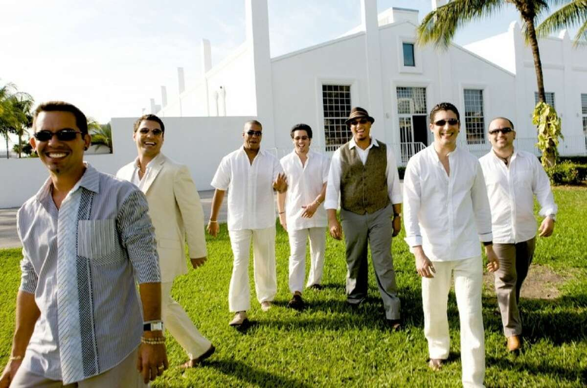 Tiempo Libre, a three-time GRAMMY-nominated group, joins the Houston Symphony at Hot Night in Havana May 24 at The Cynthia Woods Mitchell Pavilion. The concert showcases dance-inducing music including the Mambo, Bolero and Cha-Cha-Cha.