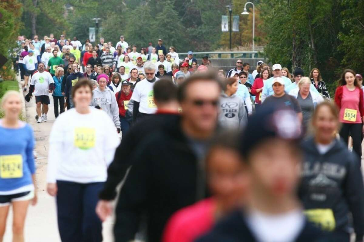 Last year's Run Thru The Woods race saw 5,200 runners. Race officials are expecting to top 5,500 this year.