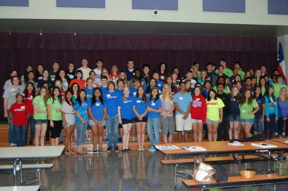 Willis High School, The Willis Interact Club and The Rotary Club of Lake Conroe recently hosted the Rotary District 5910 Interact Officer Training at Willis High School. More than 100 Interact Officers from Interact Clubs throughout the District attended the day long meeting.