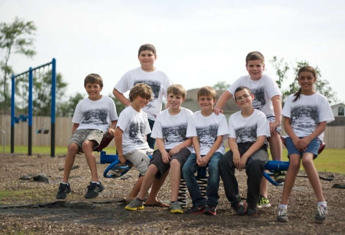 A group of children have come together to help raise funds to rebuild a playground which was destroyed by wildfires in Magnolia.