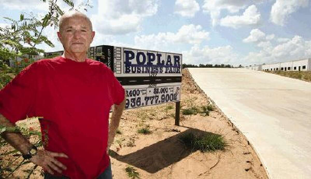 Conroe businessman Jack McClanahan is developing a 200,000-square-foot business park near Lake Conroe.