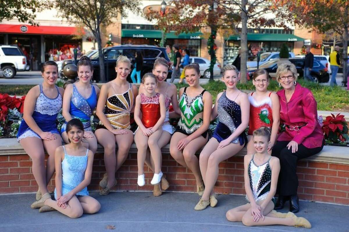 Mickey's Majorettes take a moment from their performance last Christmas. Pictured are, back row left to right, MaryMichael Bellin, Kristin Baker, Hannah Dziuk , Lauren Pattillo, Kayli Mickey, Caroline Carothers, Megan Norton , Rachel Hutchinson and Patti Mickey; and, front row left to right, Isabel Obias and Allie Pellerito.
