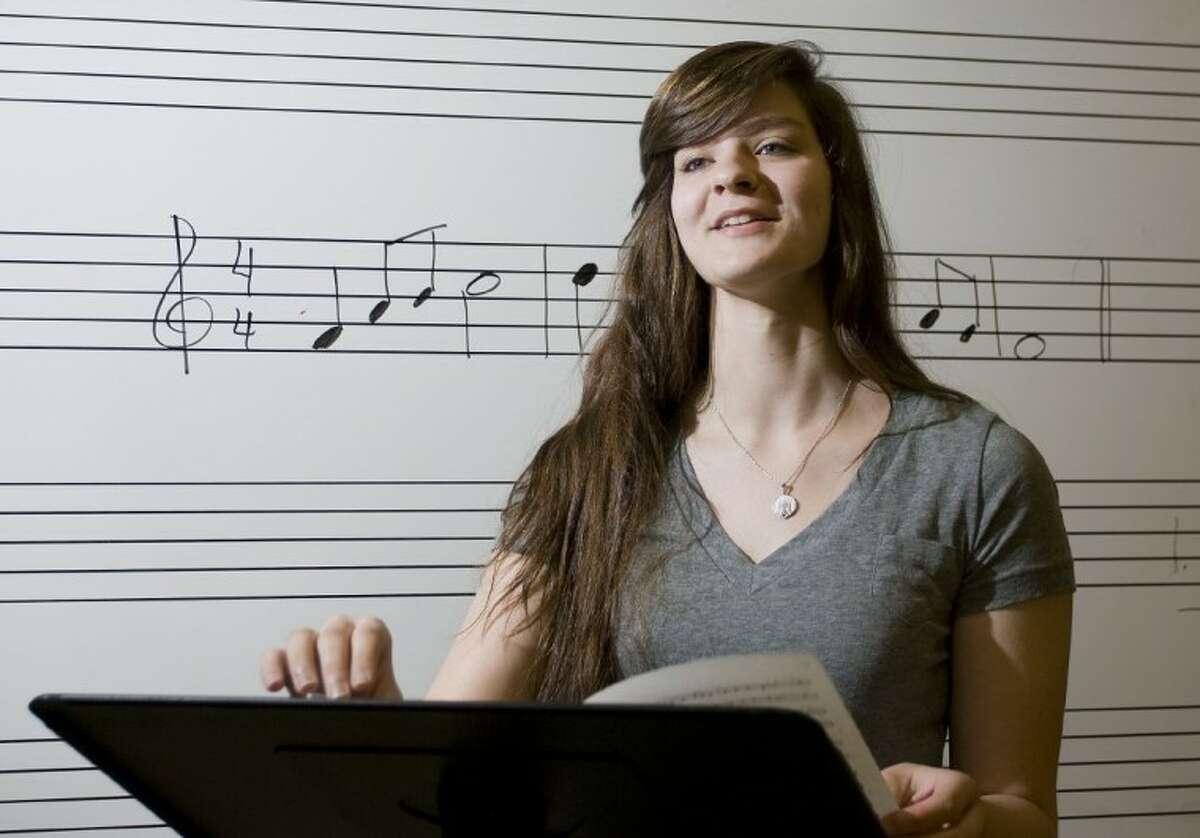 Magnolia High School student Tatiana Haar earned a spot on the All-State Womens Choir as an Alto 1.