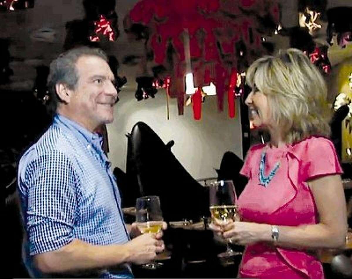 Michael Cordua and Good Taste with Tanji columnist Tanji Patton.