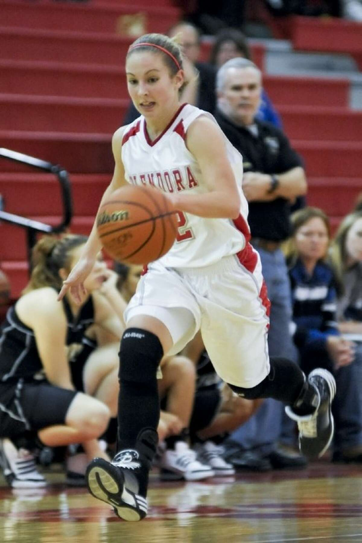 Splendora's Hannah Hathcock was named the All-Montgomery County Co-Offensive Most Valuable Player.