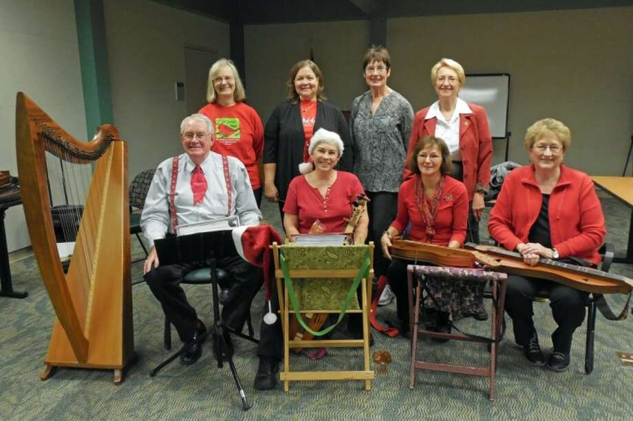 The Lone Star Strummers mountain dulcimer group of Montgomery County recently played for the Whispers Laryngectomee support group at Memorial Hermann The Woodlands Hospital. The group celebrated together with Christmas carols and refreshments. Lone Star Strummers are lead by Dale Woodruff. They play a variety of seasonal music and are available for entertaining area groups. For further information, call 713-589-2384 or email at woodruffdl@earthlink.net.