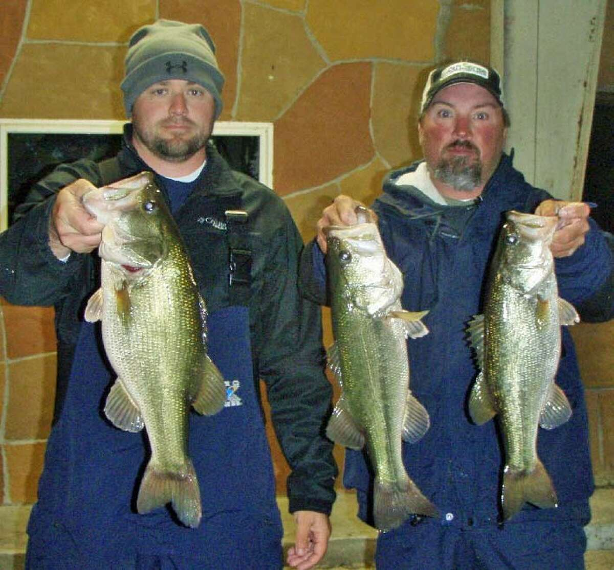 Steve Lee and Jason McClure won the Conroe Bass Tuesday Night Tournament on Nov. 27 with a stringer weighing 10.88 pounds.