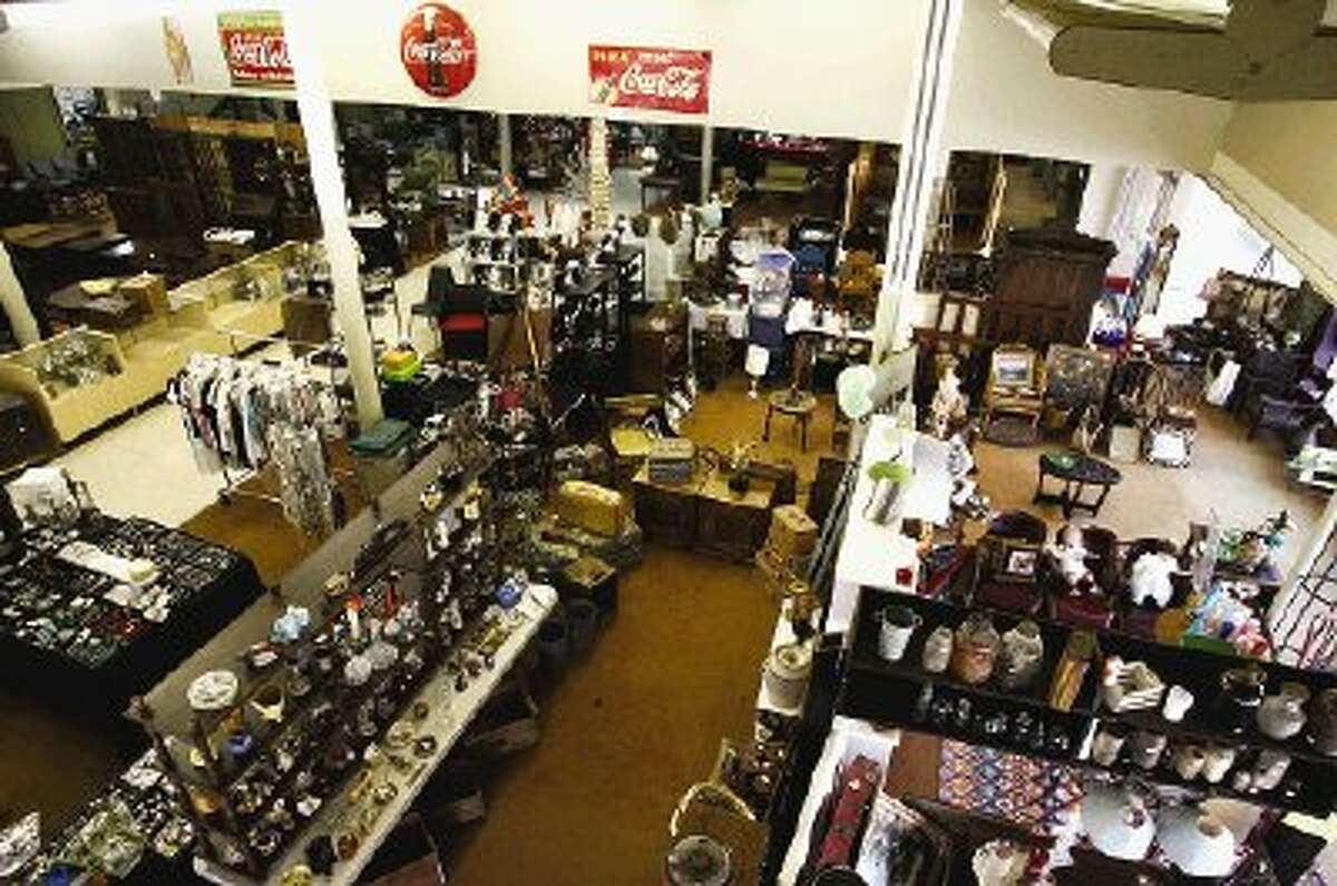 More than 30 vendors at Conroe Central Market offer a range of antiques, collectibles and nostalgic merchandise.