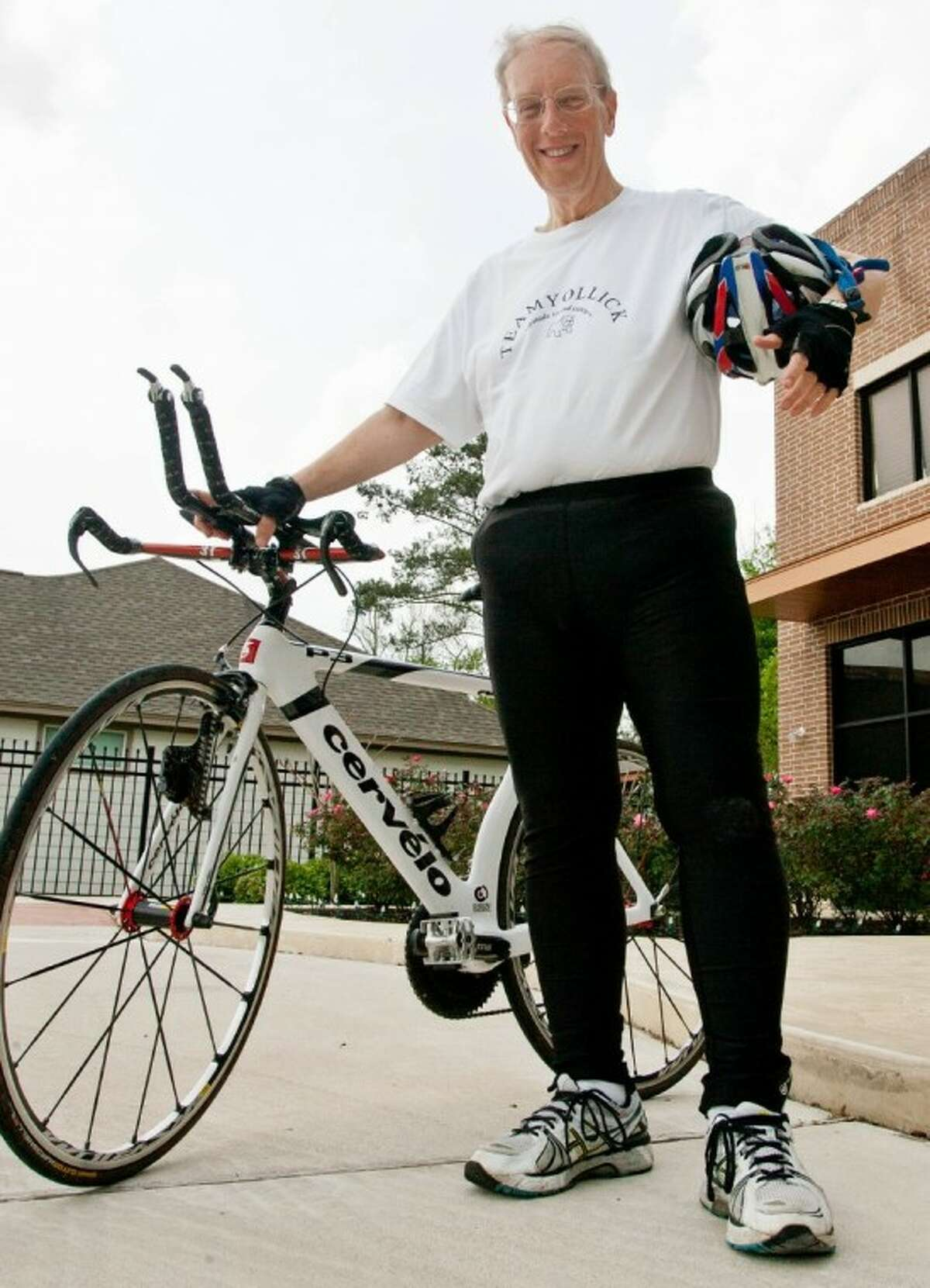 Eric Yollick, of The Woodlands, has lost more than half of his body weight since July 2010.