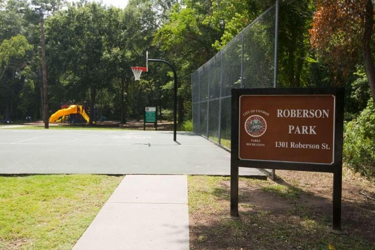 Roberson Park in Conroe.